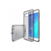 Husa Protectie Spate Ringke Air Smoke Black pentru Samsung Galaxy J5 2016 plus folie Invisible Screen Defender