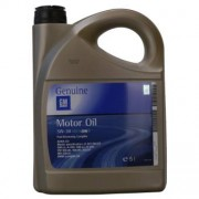 GM OPEL 5W-30 Dexos 2 Fuel Economy Longlife 5 Litres Jerrycans