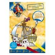 Piet Piraat Kleurboek kribbelkrabbel