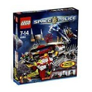 Lego Space Police Exclusive Limited Edition Set #5980 Squidman'S Pitstop