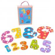 Puzzle-ul cifrelor 1 - 9