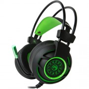 Casti Marvo HG9012 GREEN 7.1 Surround, USB