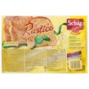 Schär gluténmentes rustico szeletelt kenyér magvas - 2x225g