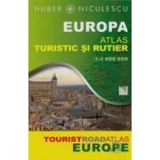 Europa - Atlas Turistic Si Rutier