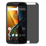 Folie protectie PRIVACY sticla securizata Motorola Moto G4 Plus