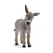Schleich 13746 Donkey Foal Figurine Gray