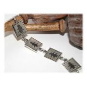 Bracelet Sapin Noel Argent