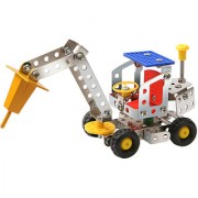 Magideal Metal Heavy Rock Crush DIY Toy Assembly Model Kit Construction Truck H