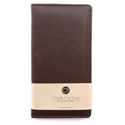 Chalk Factory Brown Leather Case / Pouch/ Cover for BlackBerry Passport (Black, 32GB) Mobile Phone