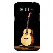 FUSON New Acoustic Guitar Dark 3D Hard Polycarbonate Designer Back Case Cover for Samsung Galaxy Grand Neo Plus I9060I :: Samsung Galaxy Grand Neo+