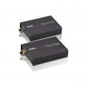 Aten VanCryst HDMI Audio/Video Extender, schwarz