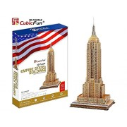 Cubic Fun MC048H-2 - 3D Puzzle -2 Empire State Building New York Usa