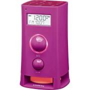 K-200 FM RDS konyhai rádió ébresztéssel üzenetrögzítővel pink