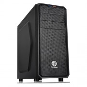Thermaltake Versa H25 Midi Tower, Case per il PC, Nero
