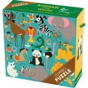 Animals of the World Jumbo Puzzle by MUDPUPPY