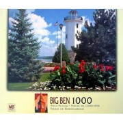 Big Ben 1000 Piece Old Nubble Lighthouse Fond Du Lac WI. USA