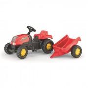 Rolly toys trattore con rimorchio kid x