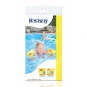 Opblaasbare gele zwemvleugels met schildpad voor kinderen