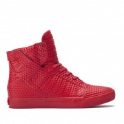 Supra Skytop red/red