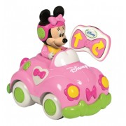 Masinuta Minnie cu telecomanda, CLEMETONI Disney Baby
