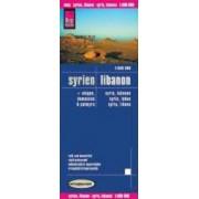 Syria, Lebanon by Reise Know-How