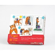 The Tiger Who Came For Tea - Four in One Jigsaw Puzzles (Dispatched from UK)