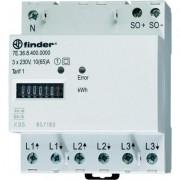 Háromfázisú fogyasztásmérő, 3 x 65 A, 1 Tarif, MID, FINDER (125402)