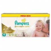 Pampers - Scutece Premium Care 4 Mega Box 104 buc
