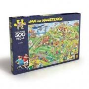 Grow Puzzle 500 peças Comic Puzzle - Futebol