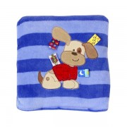 Taggies Dog Applique Blanket