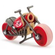 Hape - E5513 - Bambou - Véhicules Miniatures - Moto E-Chopper