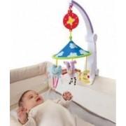 Jucarie bebelusi Taf Toys Foldable Musical Carousel - Happy Traveling