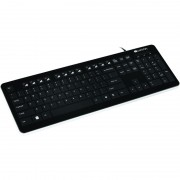 TASTATURA CANYON CNS-HKB3-US WIRED 104 KEYS SLIM AND GLOSSY BLACK