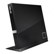 ASUS External Blu-Ray Combo Black Retail Drive - SBC-06D2X-U (USB/BD-R: 6x/