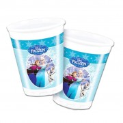 Frozen Ice Skating Plastic Cups - Pack Of 8