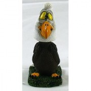 BALD EAGLE BOBBLE HEAD FIGURINE.WOBBLER.NODDER.SO CUTE!