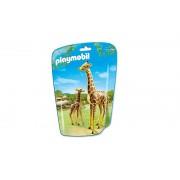 6640 Playmobil Girafa Cu Pui