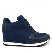 Tênis Sneaker Feminino Vizzano 1226102 Jeans