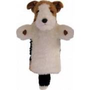 Jucarie educativa The Puppet Company Hand Doll - Fox Terrier