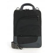 TUCANO BMTIP :: Тънка чанта с две отделения за Apple iPad, черен цвят