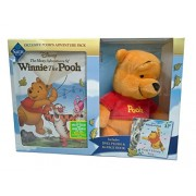 Winnie the Pooh - Poohs Adventure Pack (Plush + Book + DVD)