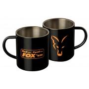 Fox Stainless Black XL 400ml Mug