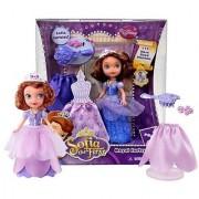 Royal Curtsy Sofia ~5 Doll - Disney Sofia the First Playset