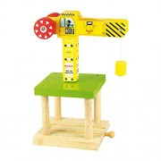 Bigjigs Rail BJT175 Big Yellow Crane