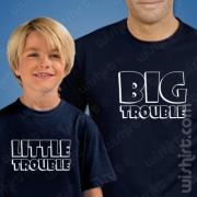 T-shirts Big Trouble Criança