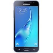 "Telefon Mobil Samsung Galaxy J3 (2016), Procesor Quad-Core 1.5GHz, Super Amoled Capacitive touchscreen 5"", 1.5GB RAM, 8GB Flash, 5MP, 4G, Wi-Fi, Dual Sim, Android (Negru) + Cartela SIM Orange PrePay, 6 euro credit, 4 GB internet 4G, 2,000 minute nationale"