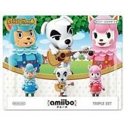 amiibo triple set [Kaizo / Totakeke / Lisa] (Animal Crossing series)