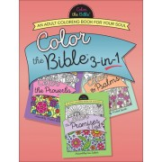 Color the Bible(r) 3-In-1 (Volume 2): An Adult Coloring Book for Your Soul