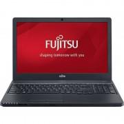 Laptop Fujitsu Lifebook A555 15.6 inch HD Intel Core i3-5005U Broadwell 2GHz 4GB DDR3 500GB HDD Black Free Dos