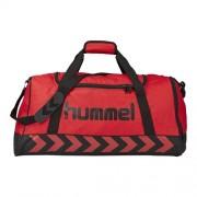 hummel Sporttasche AUTHENTIC - true red/black   S